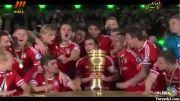جشن قهرمانی بایرن مونیخ در جام حذفی آلمان