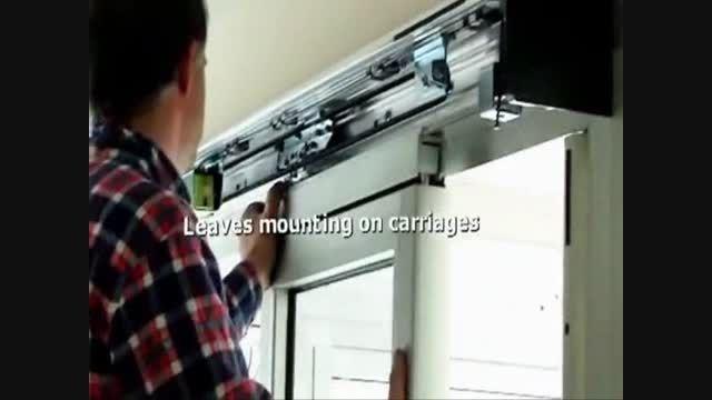 آموزش نصب درب اتوماتیک شیشه ای