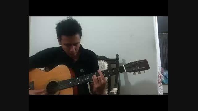 کلیپ گیتار آهنگ عاشقم من از بابک امینی