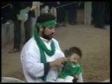 تعزیه-تعزیه امام حسین شهادت حضرت علی اصغر حصار خروان قزوین