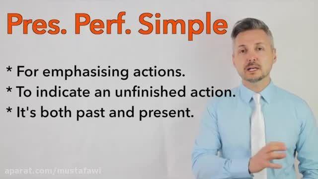 آموزش گرامر زبان انگلیسی (تفاوت گذشته ساده و حال کامل)5