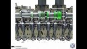 موتور جدید TSI گروه VW فولکس واگن