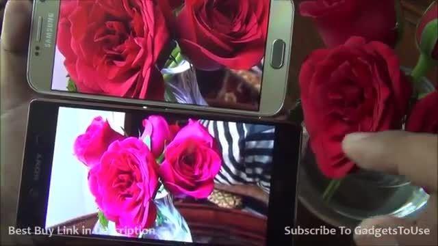 Sony Xperia Z3 Plus VS Galaxy S6_Camera Comparison