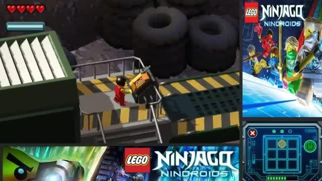 گیم پلی بازی لگو نینجاگو ربات های نینجا-پارت8