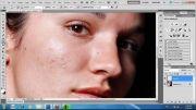 آموزش روتوش چهره در فتوشاپ
