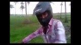 آخر خنده موتور سواری(از دست ندی هااااا)
