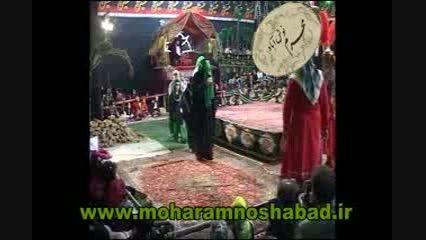 تعزیه خرابه شام اسرای کربلا در کاخ یزید،تعزیه نوش آباد