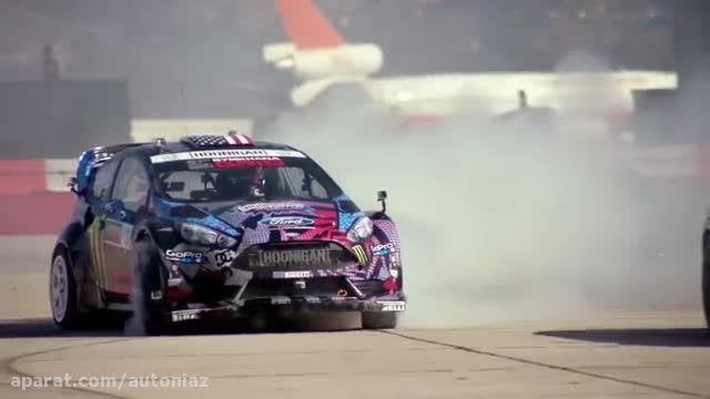 زیباترین حرکات نمایشی با خودرو