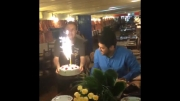 جشن تولد سام درخشانی تولد 38 سالگی