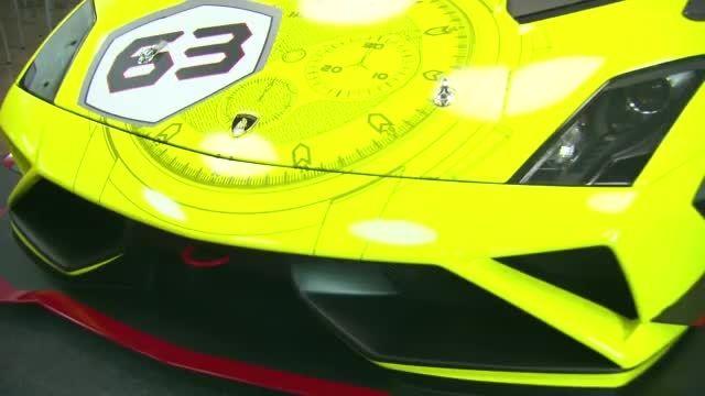 2013 لامبورگینی گالاردو  LP 570-4 Super Trofeo