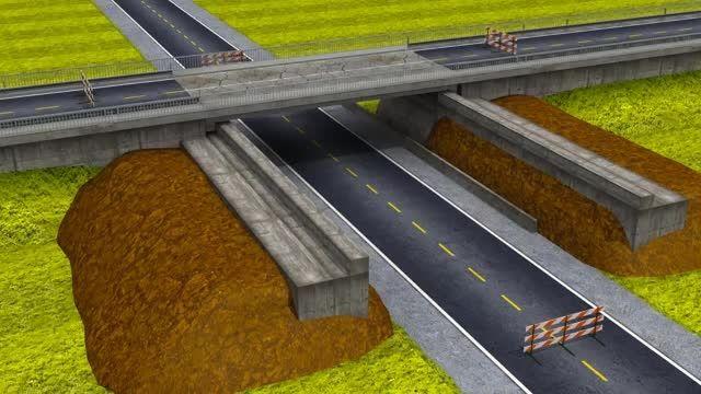 جک حرکت جانبی پل برای تعویض پل - ENERPAC