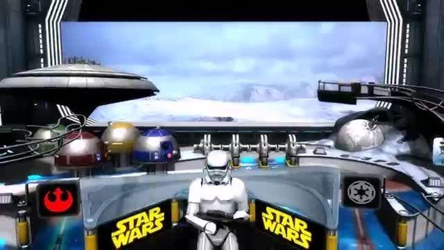 تریلر بازی اندروید جنگ ستارگان پین Star Wars Pinball 3