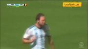 آرژانتین 1-0 بلژیک / یک چهارم نهایی جام جهانی
