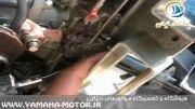 آموزش سرویس کاربراتور موتور قایق یاماها 150 اسب