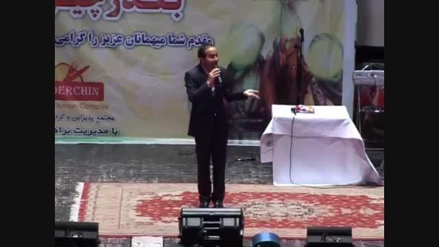 طنز پر انرژی و دیدنی کمدین ایرانی حسن ریوندی در کرج