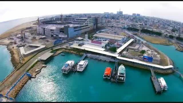 تصاویر هوایی پدیده فیلم از جزیره زیبای قشم
