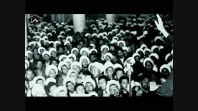 امام خمینی(ره)-امام خامنه ای(دامت برکاته)احترام به علما