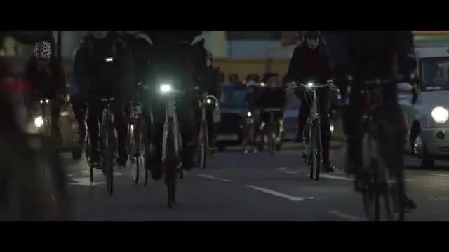 اسپری براق کننده برای درخشیدن دوچرخه ها در شب