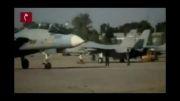رزمایش فروردین ماه سال پیش نیروی هوایی به صورت موزیک ویدیو ( جنگنده - خلبانی )