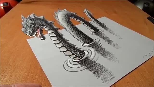 آموزش نقاشی سه بعدی...قسمت دوم
