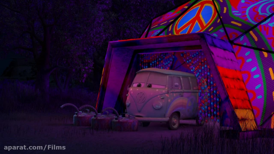 PIXAR 2006- Mater and the ghostlight