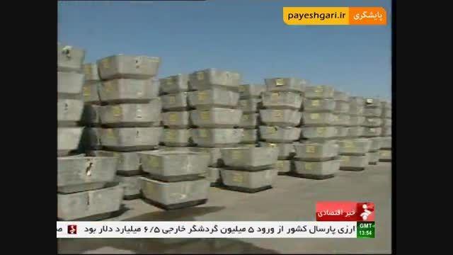 گزارش با موضوع محصولات آلومینیوم در بورس کالای ایران