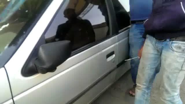 سرقت ماشین در صدم ثانیه