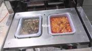 دستگاه سیل ظروف دو قالبه   sealer packing machine