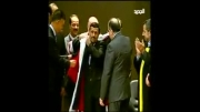 اعطای دکترای افتخاری علوم سیاسی به دکتر احمدی نژاد