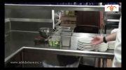 روش شست و شوی صنعتی ظروف آشپزخانه و رستوران
