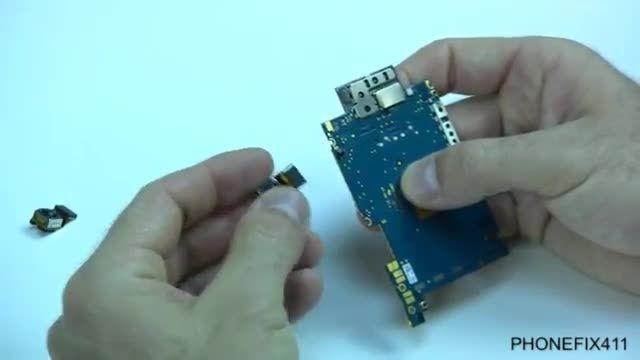 آموزش تعمیر گوشی آیفون 3gs