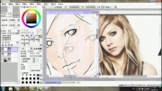 Speed Painting - Avril Lavigne