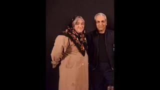 مهران مدیری و همسر محترم .. خخخخخخ :))