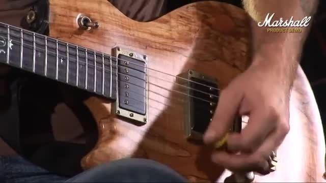 تست آمپلی فایر گیتار marshall mg15cfx