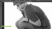 آموزش رنگی کردن عکس سیاه سفید در فتوشاپ - لیموناد