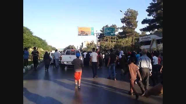 پیاده روی مردمی همراه اول در مشهد(سید مجتبی موسوی قرقی)