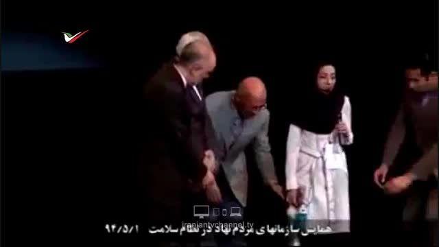 دختری که اشک دکتر ظریف را درآورد