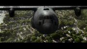 فیلم کوتاه حمله هوایی کره شمالی به کاخ سفید آمریکا