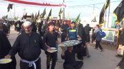 پذیرایی از زوار اربعین توسط عراقی ها 1393