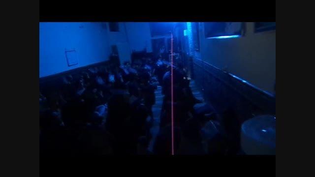 مراسم شب 21 رمضان (شب قدر)94 مسجد الزهرا س به مداحی حاج