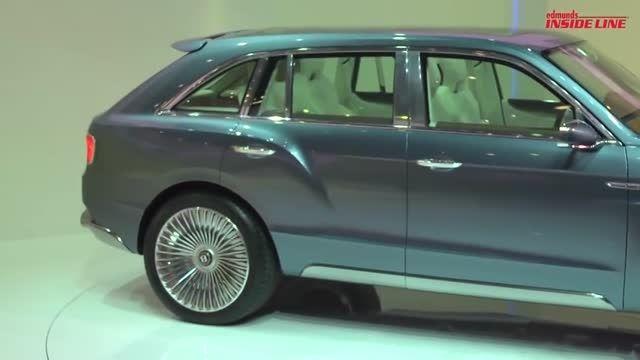 رونمایی از سوپر لوکس ترین SUV بنتلی