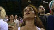 سرود ملی و مراسم قبل از بازی ایران-آمریکا2014