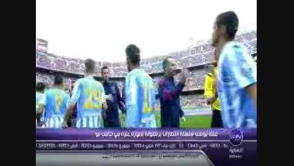 خلاصه بازی بارسلونا با مالاگا هفته 24 لیگ برتر اسپانیا