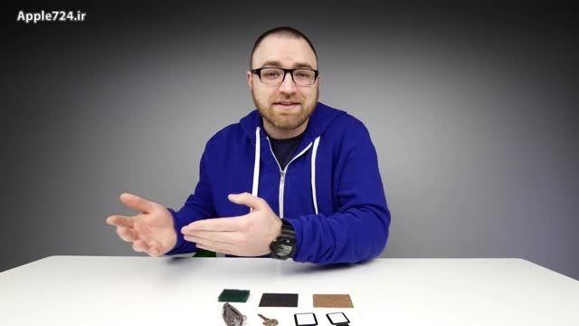 تست خش پذیری ساعت اپل | فروشگاه اینترنتی Apple724.ir