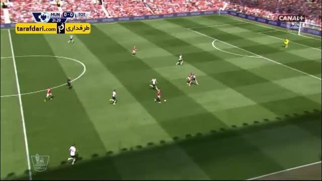 خلاصه بازی منچستر یونایتد 1-0 تاتنهام