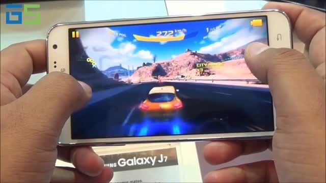 اجرای بازی Asphalt 8 بر روی Samsung Galaxy J7
