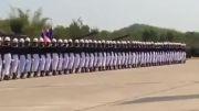 رژه نظامی تایلندی فوق العاده زیبا و هنری