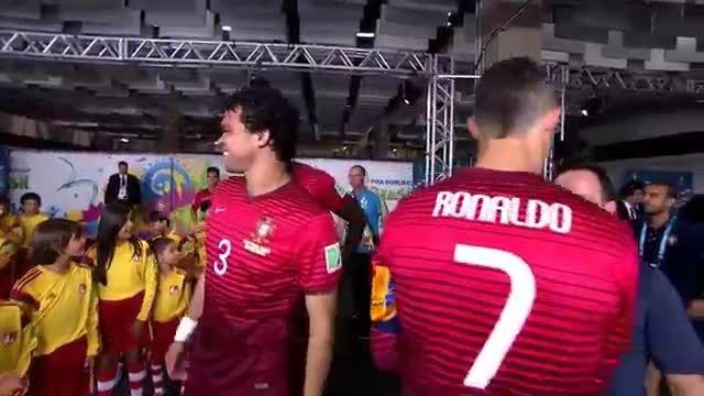 هایلایت بازی کریس رونالدو مقابل غنا (جام جهانی 2014)