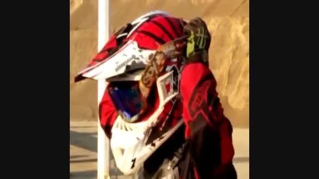 دختر موتور كراس سوار در تهران