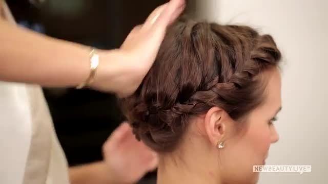 مدل موی خیلی زیبا و جمع و جور برای موهای کوتاه :)